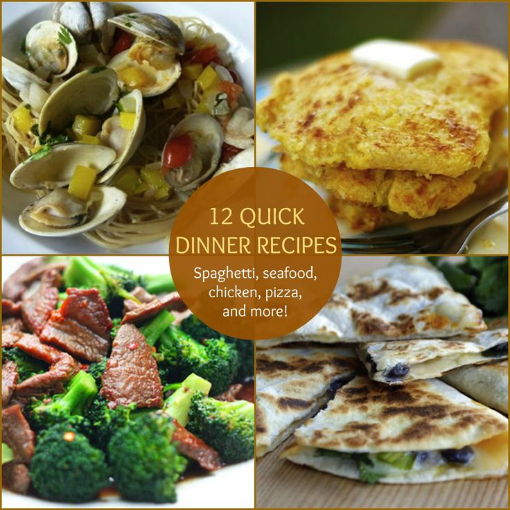 Top 28 fast dinners 15 quick easy dinner recipes for for Quick and easy dinner recipes for family