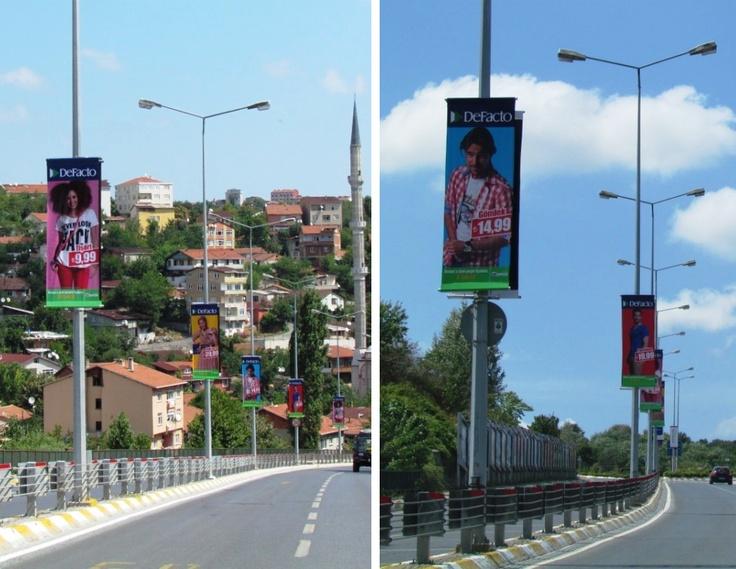 street pole flags