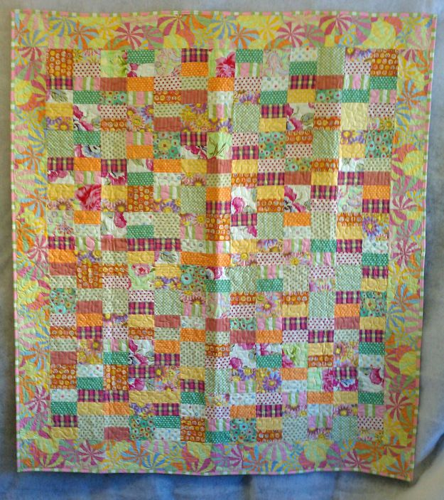 Free Quilt Patterns Using Jelly Roll Strips : strips & squares Quilting Pinterest