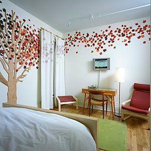 D Wall Tree Wall Trees Pinterest