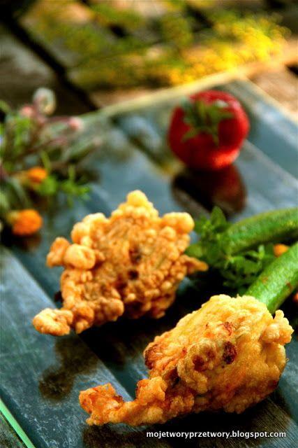 stuffed zucchini flowers. | Yumm! | Pinterest