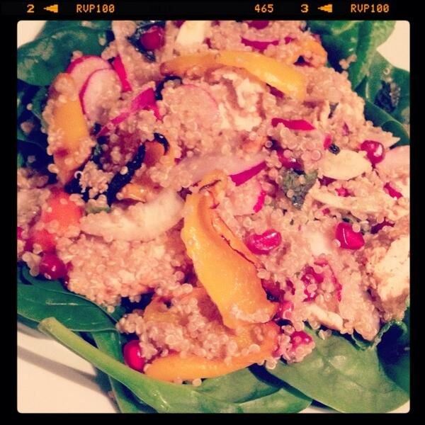 Yogurt and harissa marinated chicken salad by @Fat Girl, PhD - aka ...