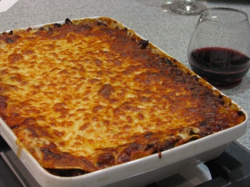 The Best Lasagna EVER. The bf's not a huge lasagna fan but the title ...