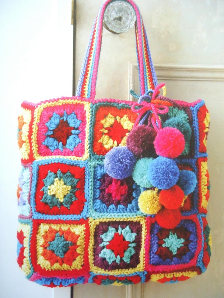 Beautiful stunning crochet bag Crochet Pinterest