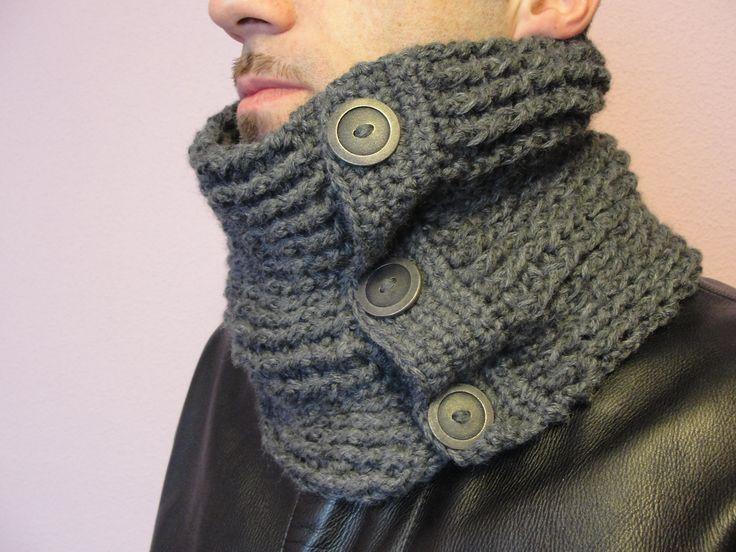 Cuellos Tejidos En Crochet Para Hombres