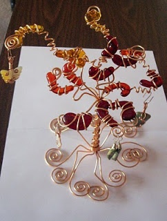 How to Make Twisted Wire Tree Sculpture Tutorials - The Beading Gems ...