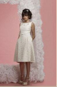 kurzes Kleid  Kurze Brautkleider, Standesamt, Abendkleider, Feiertag ...