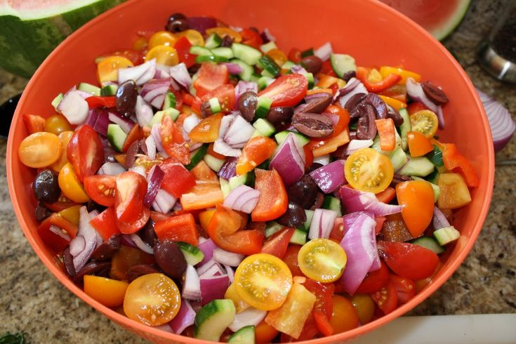 Farmers Market Salad | Farmers Market Party | Pinterest