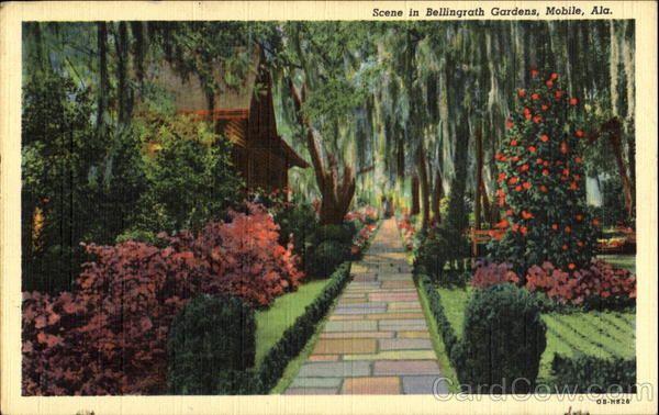 Bellingrath Gardens Mobile Bay Postcards Pinterest