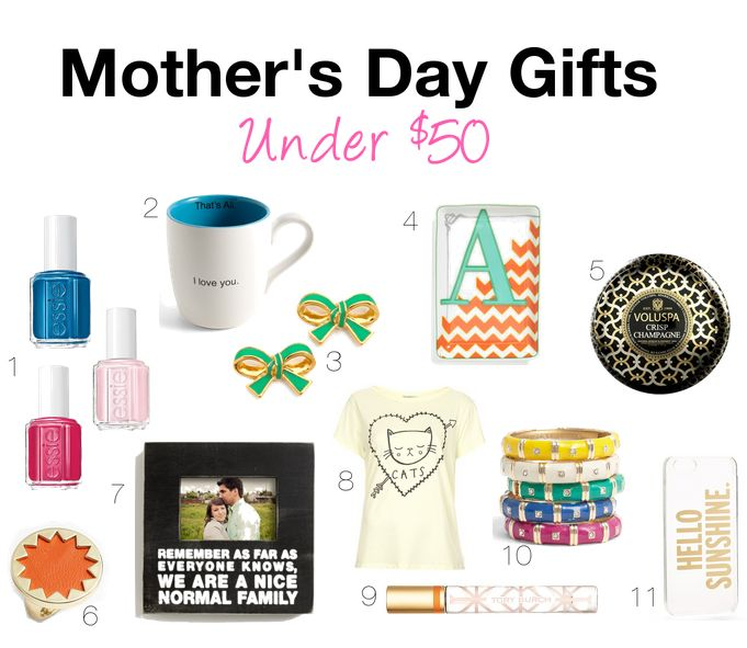 Mother 39 S Day Gifts Under 50 Polished Closets Pinterest