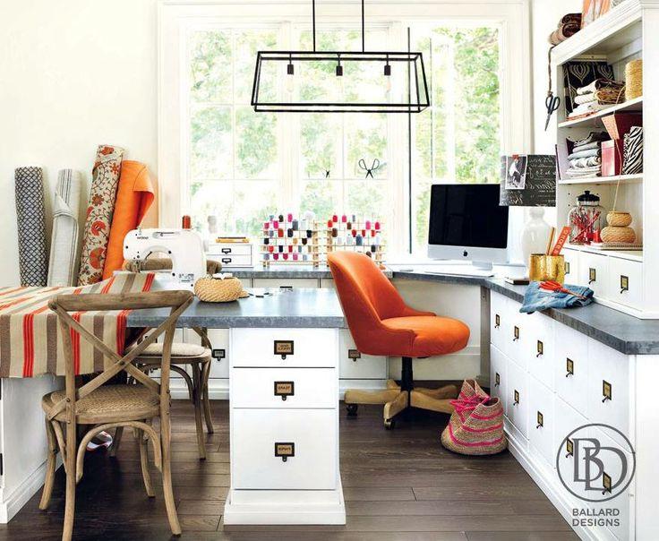 Ballard Designs  Dream Home Office/Craft Space  Pinterest