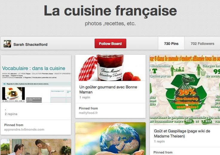 Pin by dustin mcclain on french food pinterest for Cuisine francaise