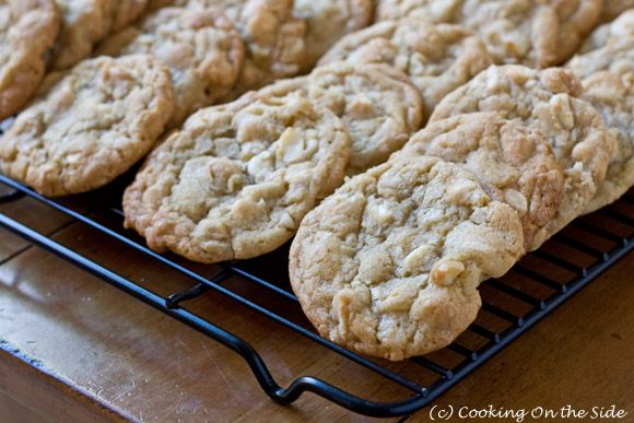 white chocolate macadamia cookies | Foodies | Pinterest