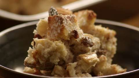 Bread Pudding II...My hubs made this tonight and to make it more ...