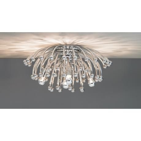 Robert Abbey Anemone 23 1 2 Wide Ceiling Wall Light Fixture