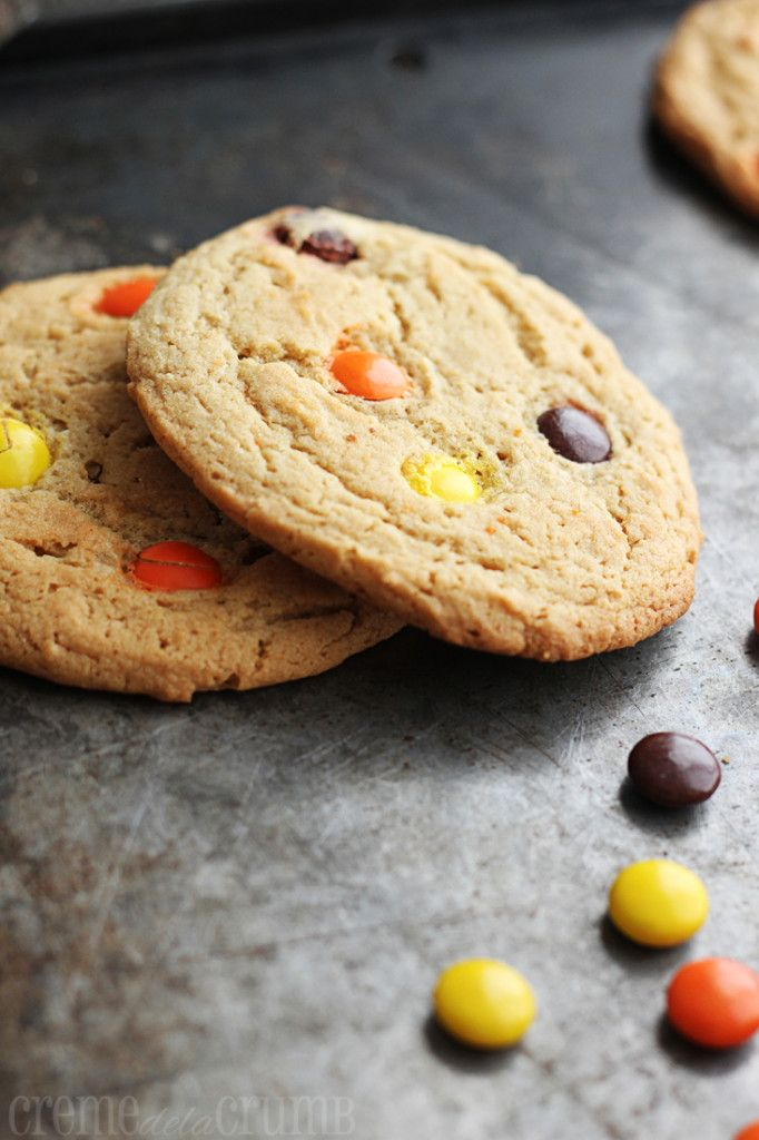 Chewy Reeses Peanut Butter Cookies | Recipe