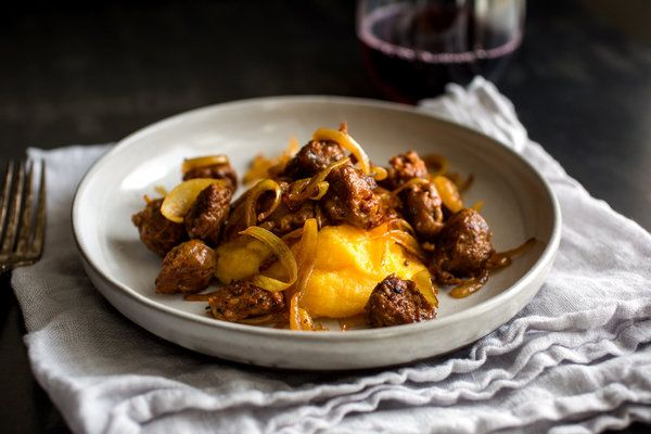 Butternut Squash Polenta With Sausage and Onion - Recipes - The New ...