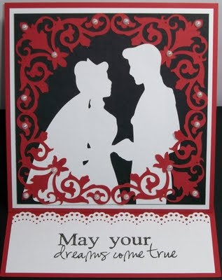 cinderella & prince charming wedding card | disney cards