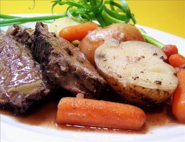 Super Simple Crock Pot Roast | Recipe