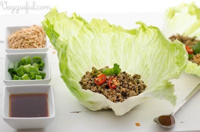 vegetable san choy bau recipe