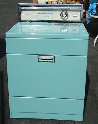 Vtg Turquoise Sears Kenmore Retro Mod Deco Electric