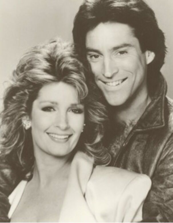 1986 Deidre Hall and Drake Hogestyn. | Days Awesomeness ...