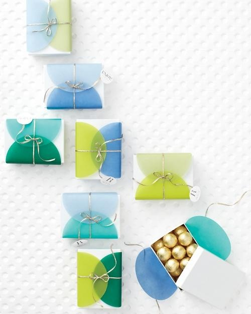 Sweet Tooth | Sweet Idea: Vellum Dot Favors via MSW