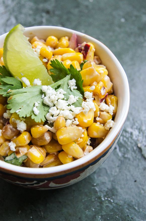 Esquites - Mexican Corn Street Salad | clever ideas and recipes | Pin ...