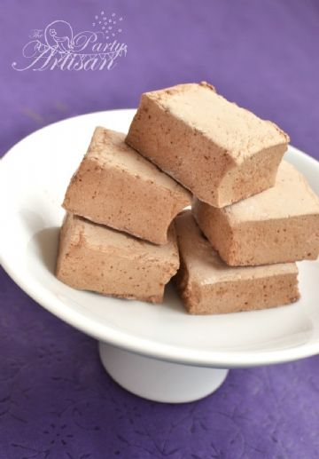 Chocolate malt marshmallows | candies & sweets | Pinterest