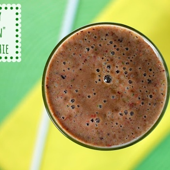 """Berry """"Green"""" Smoothie 