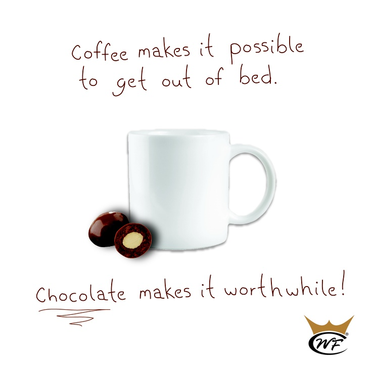 #chocolate #quote #coffee