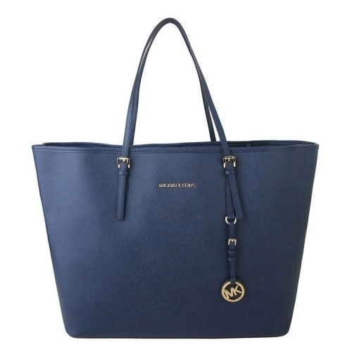 michael kors navy blue hand bag