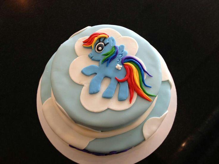 Rainbow Dash Cake Design : Rainbow dash cake:) Kid s Birthday Party Ideas Pinterest