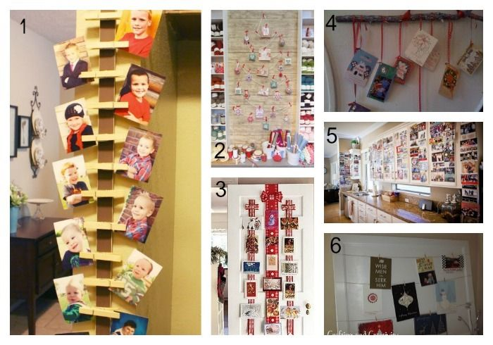 Cool ideas for hanging christmas cards lentine marine
