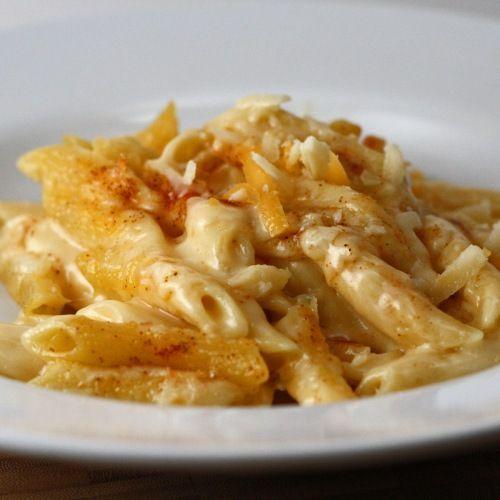 Claimed To Be Perfect Mac & Cheese - Cheddar, Gorgonzola, Gruyere, Garlic And Chili Powders