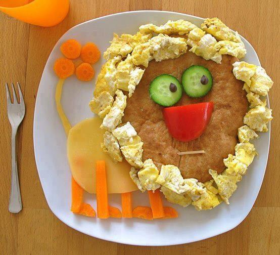 Entertaining breakfast for kids   Yummy Food   Pinterest
