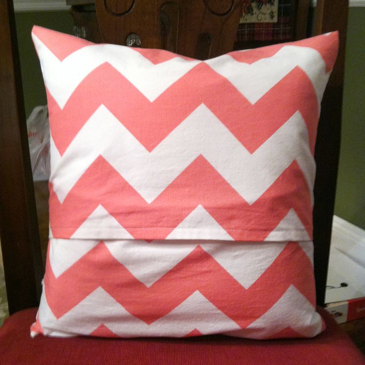 Easy tutorial for envelope pillow cover For the Home Pinterest