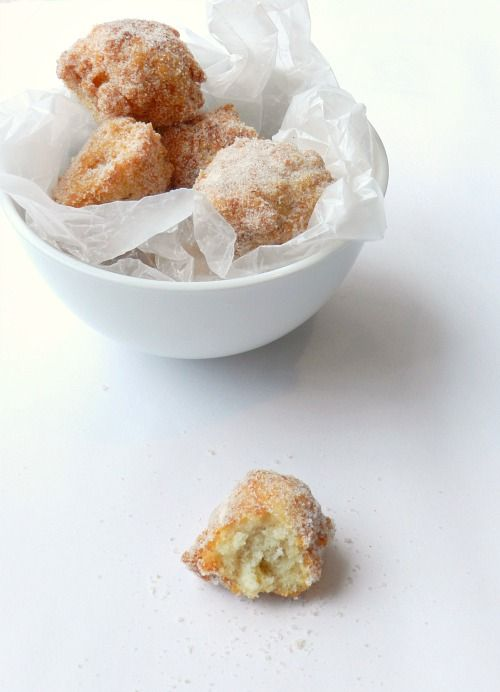 Brown Butter Donut Holes. These are AMAZZZING!!!! It's like a churro ...