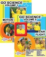 Go Science DVD series - Set of 6 $47.95