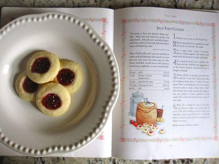raspberry jam thumbprint cookies (from gingerandjam.com)