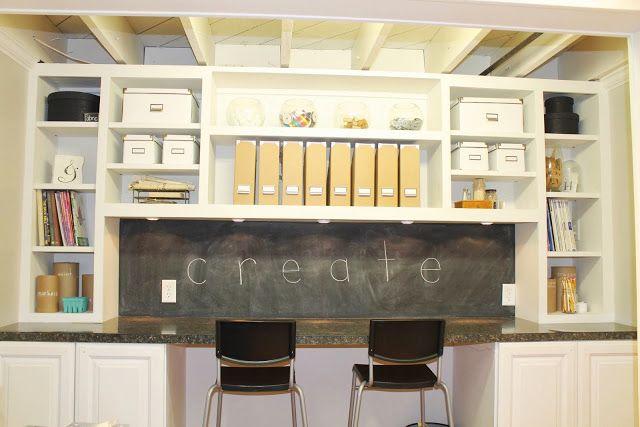 Rustic Craft Room 640 x 427