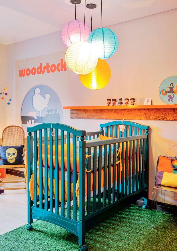 amei! um quarto infantil unissex e cheio de personalidade! | Um quarto de bebê inspirador e muito original