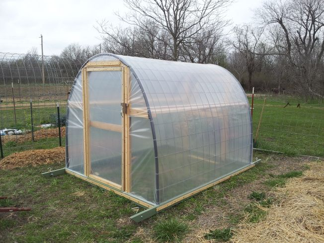 easy to build greenhouse diy home pinterest