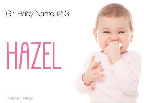 Hazel: Baby Name, Meaning &Origin | Parents