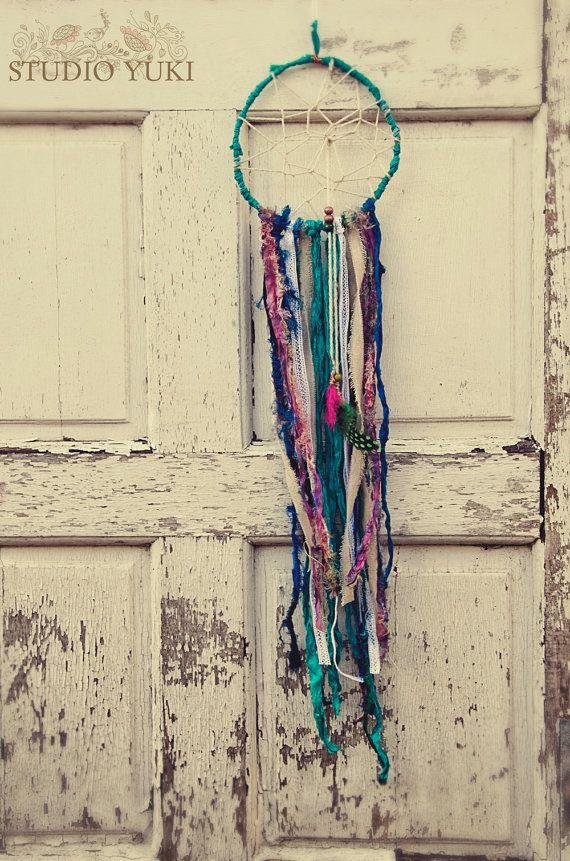Bohemian Gypsy Dreamcatcher, Handmade, Boho, Ethnic Home ...