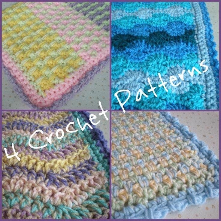 Crochet Quick Blanket : Crochet Baby Blankets - Quick Yarn Pinterest