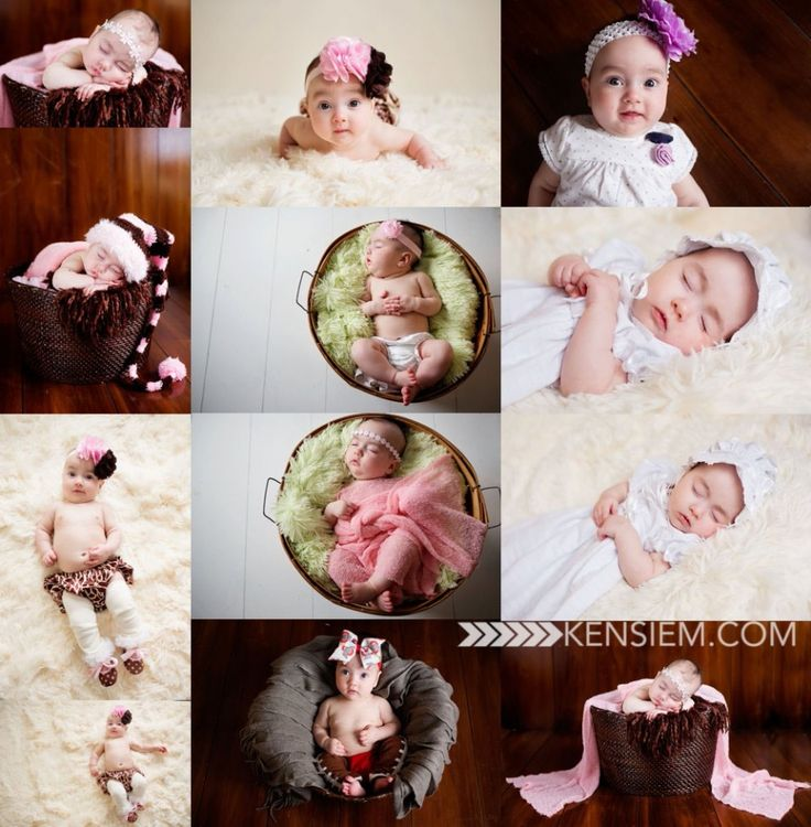 3 Month Baby Girl Photo Session Pose Ideas