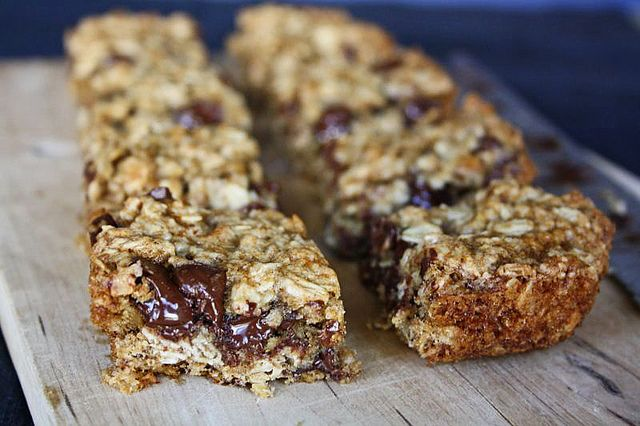 Banana Oatmeal Bars | Recipes | Pinterest