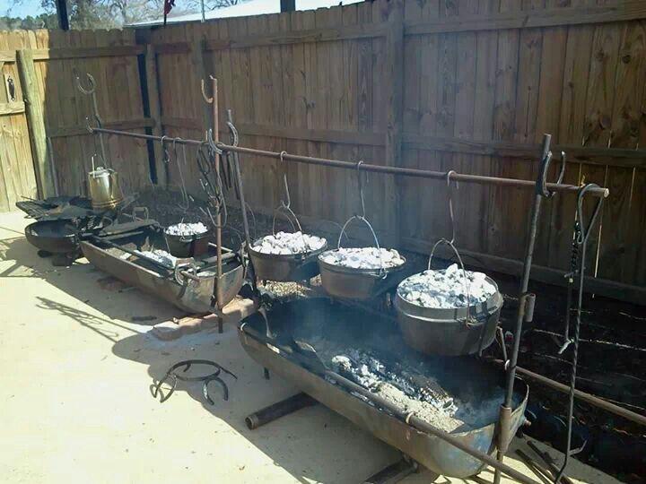 Outdoor cooking huntergathercook pinterest for Cuisine outdoor