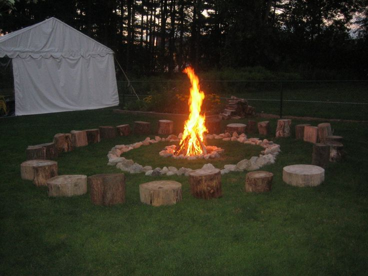 Backyard Bonfire Birthday Party Ideas : Pin by Sarah Robinson on Its a party Its a party for  Pinterest